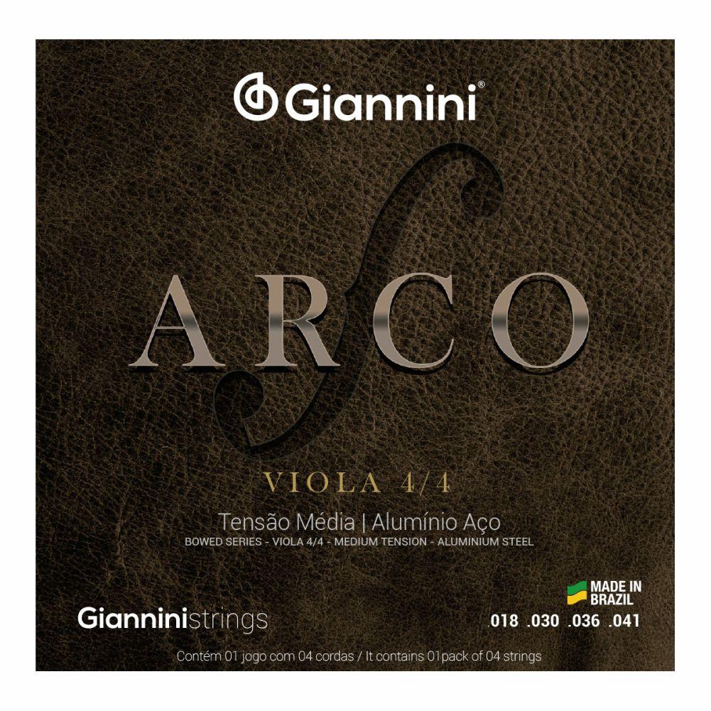 Encordoamento Giannini Arco GEAVOA para viola de arco