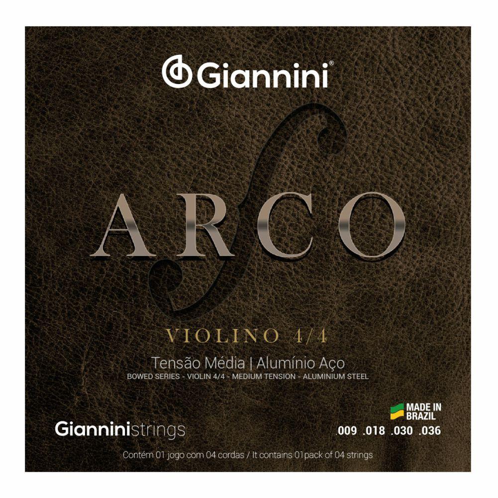Encordoamento Giannini Arco GEAVVA para violino