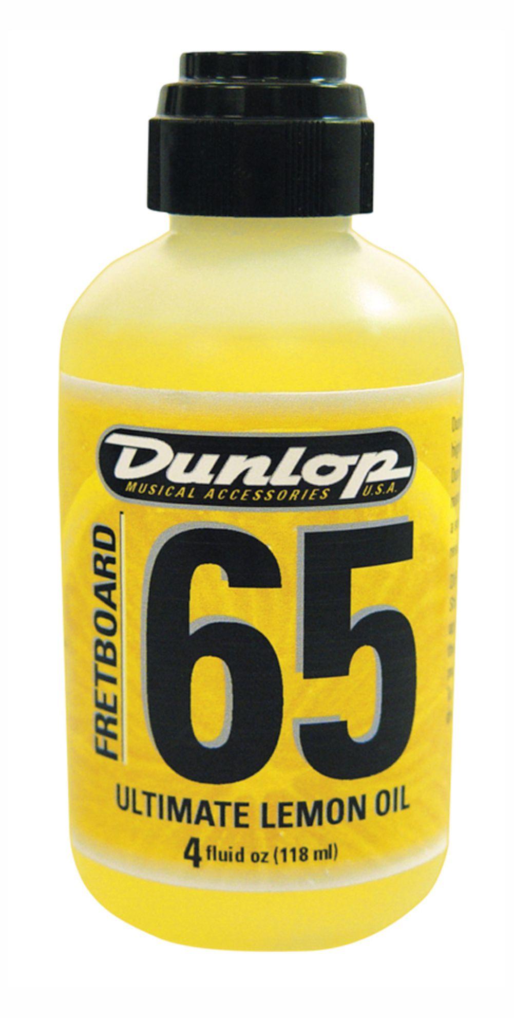Óleo de limão Jim Dunlop F65 para escala