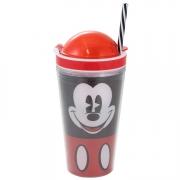 Copo com Compartimento Mickey Faces