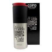 Copo Térmico A vida começa depois do café