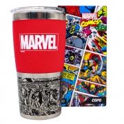 Copo viagem Max Marvel Classic