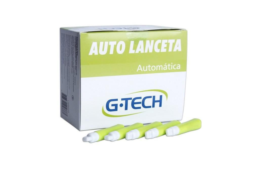 Auto lanceta G-Tech  cx c/100 unidades