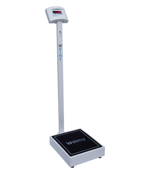 Balança Digital Adulto 200 KG X 100 Gramas S/ Régua Led W 200 / 100 F - Welmy