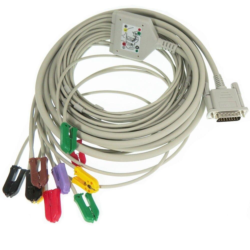 Cabo Paciente 10 Vias para Eletrocardiógrafo Cardiocare 2000 - Bionet