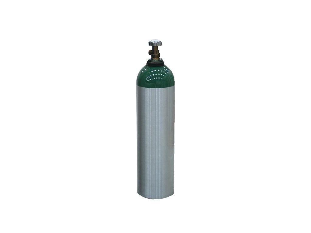 Cilindro de Alumínio Tipo D Vazio 3 Litros C/ Válvula - Protec