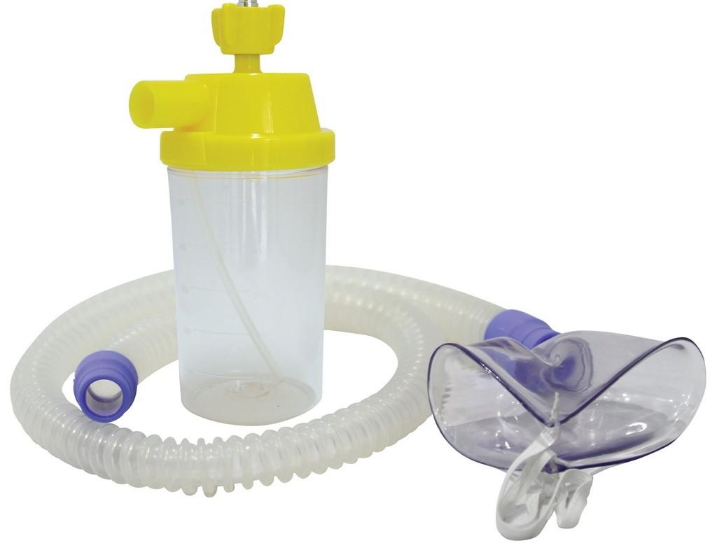 Conjunto para Nebulização Silicone AR 1200mm Adulto - Protec