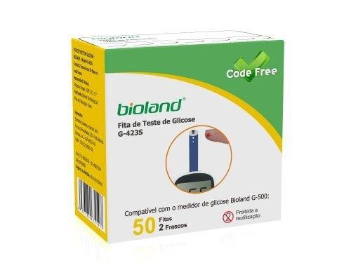 Fita para Medição - G-423S - CODE Free Frasco com 50 fitas