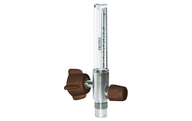 Fluxômetro 0-15 LPM Femea Argônio - Protec