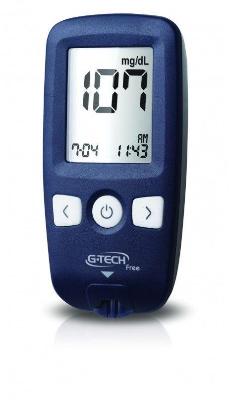 Glicosímetro G-Tech Free 1 Sistema NoCode