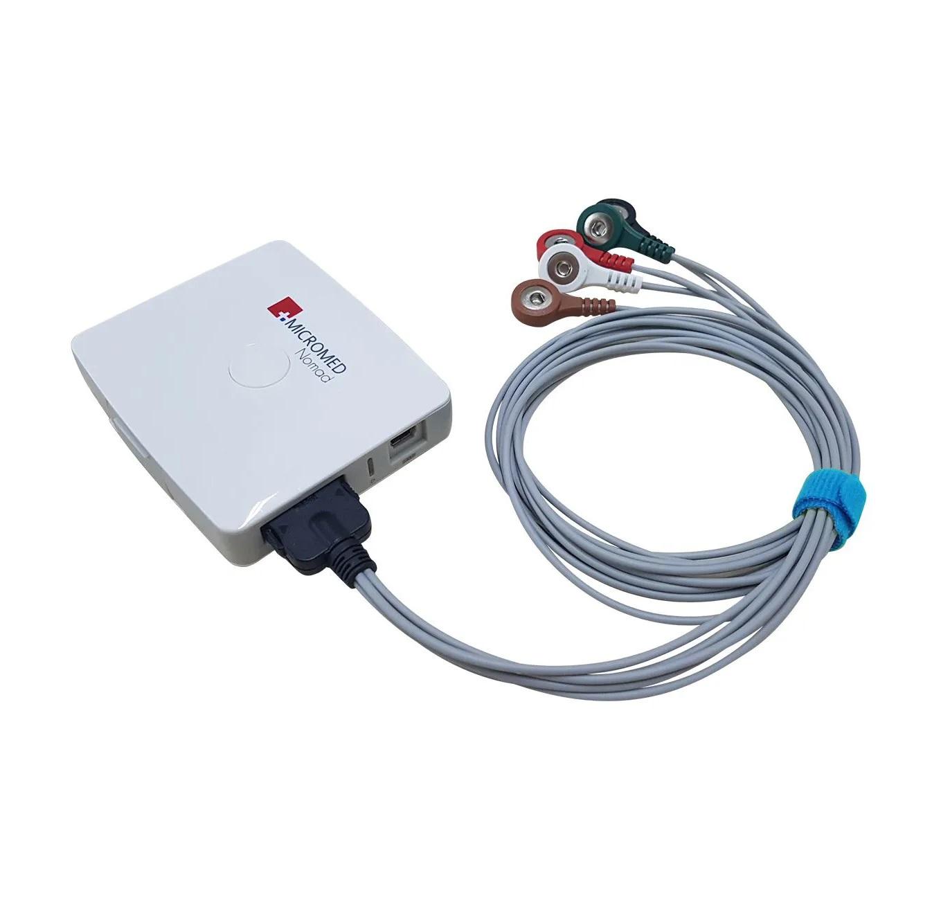 Gravador Holter Nomad - Micromed