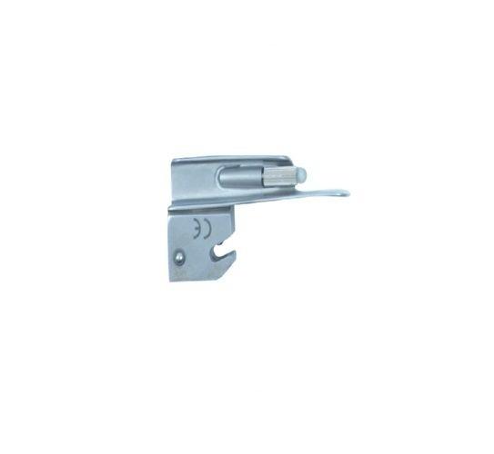 Lâmina de Aço Inox Convencional P/ Laringoscópio Reta 00 - Protec