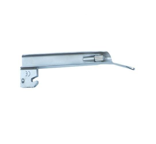 Lâmina de Aço Inox Convencional P/ Laringoscópio Reta 2 - Protec