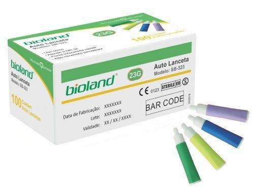 Lanceta Auto Retrátil - 23G Bioland