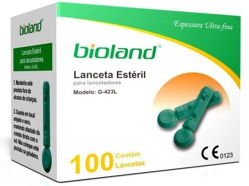 Lanceta descartável - Modelo G-423L Bioland