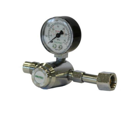 Válvula Para Cilindro C/ 1 manômetro Óxido Nitroso - Protec