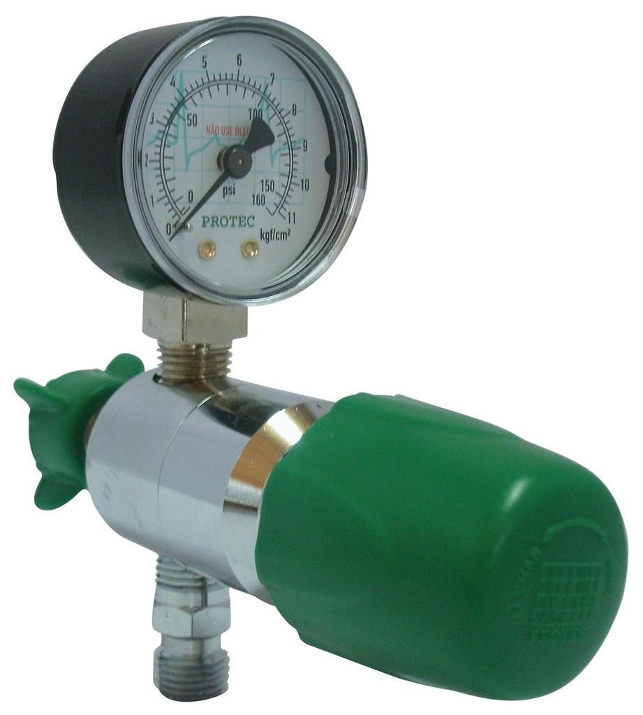 Válvula Reguladora Rede P/ Oxigênio Protec