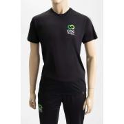 Camiseta masculina preta - Proteção UV50+
