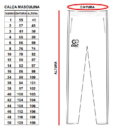 Calça Poliamida (Masculina) / Legging (Feminina)