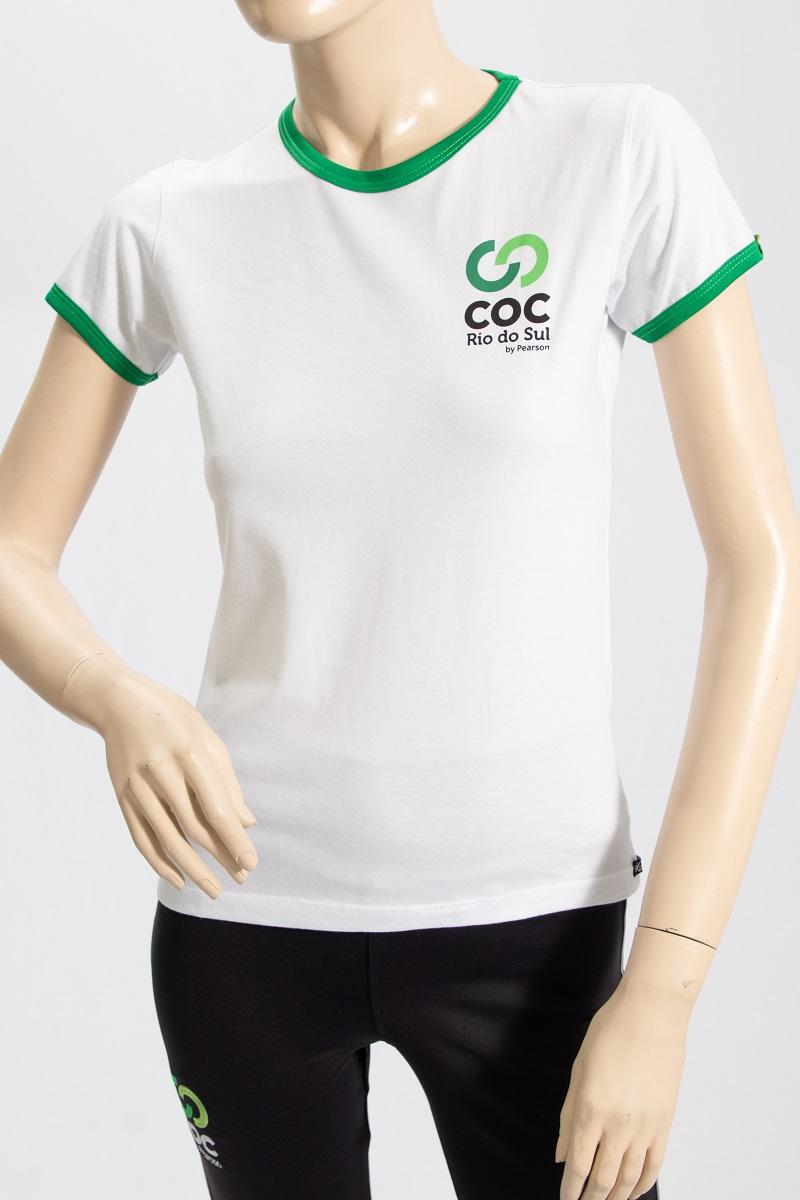 Camiseta branca - INFANTIL