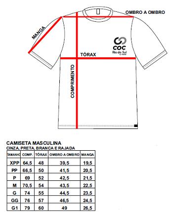 Camiseta rajada - Produto disponível apenas para LAGES