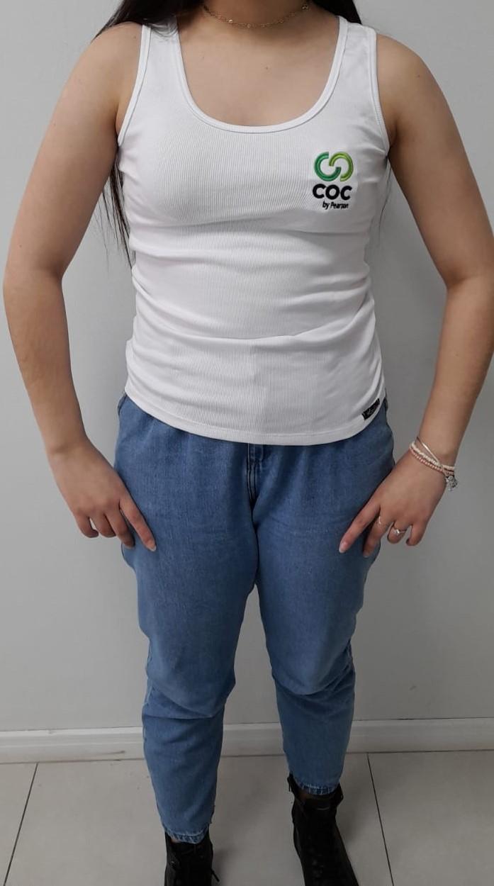 Regata ribana branca - FEMININA