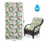 Almofada Impermeável Para Cadeiras de Fibra Flor