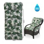 Almofada Impermeável Para Cadeiras de Fibra Folha