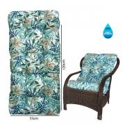 Almofada Impermeável Para Cadeiras de Fibra Tiffany