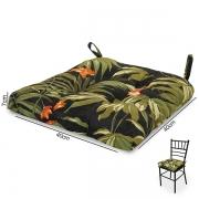 Almofada para Assento de Cadeira Tropical