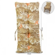 Almofada Para Cadeiras de Bambu e Vime Folhagem Claro