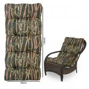 Almofada Para Cadeiras de Fibra Estampada