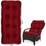 Almofada Para Cadeiras de Fibra Marsala