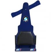 Carrinho de Rolimã F1 Com Rodas de Skate Azul CDR
