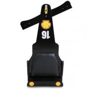 Carrinho de Rolimã F1 Com Rodas de Skate Preto 16