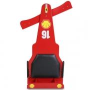 Carrinho de Rolimã F1 Com Rodas de Skate Vermelho 16