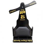 Carrinho de Rolimã F1 Junior Com Rodas de Skate Lotus Preto