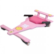 Carrinho de Rolimã F1 Junior Rosa 16