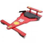 Carrinho de Rolimã F1 Junior Vermelho 16