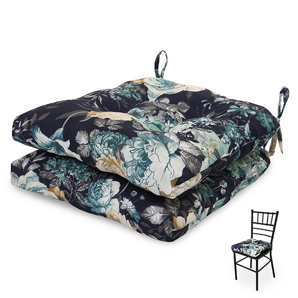 2 Almofadas para Assento de Cadeiras Oceano
