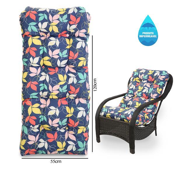 Almofada Impermeável Para Cadeiras de Fibra Barça