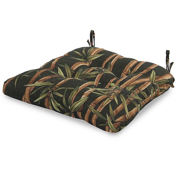Almofada para Assento de Cadeira  Bambu Escuro