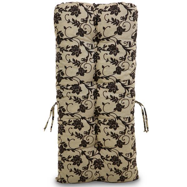 Almofada Para Cadeiras de Bambu e Vime Flor Marrom