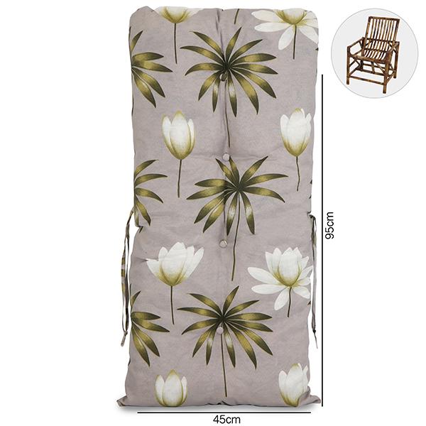 Almofada Para Cadeiras de Bambu e Vime Heradia Musgo