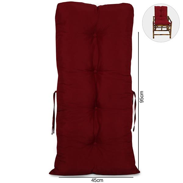 Almofada Para Cadeiras de Bambu e Vime Marsala