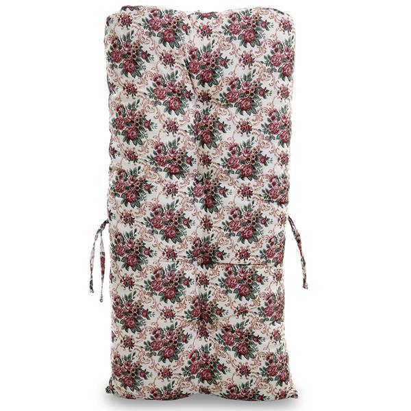 Almofada Para Cadeiras de Bambu e Vime Mini Rosa