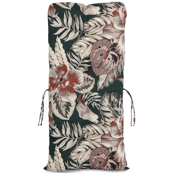 Almofada Para Cadeiras de Bambu e Vime Orquídea Marrom