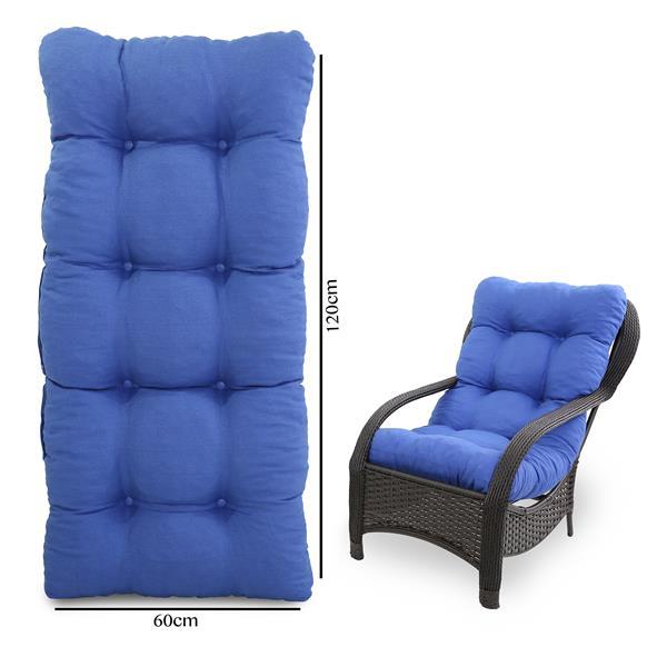 Almofada Para Cadeiras de Fibra Azul