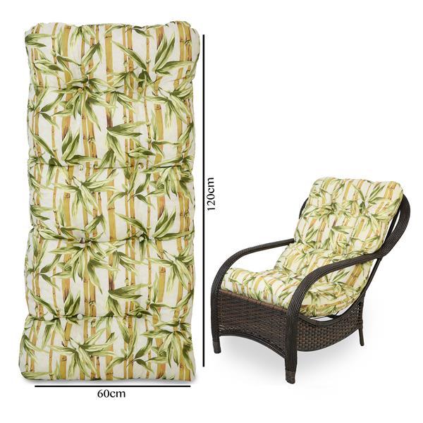Almofada Para Cadeiras de Fibra Bambu Claro