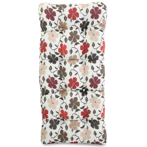 Almofada Para Cadeiras de Fibra Flores Hibiscos